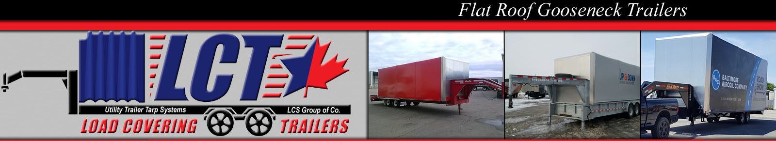 Flat Roof Goose Neck Trailers